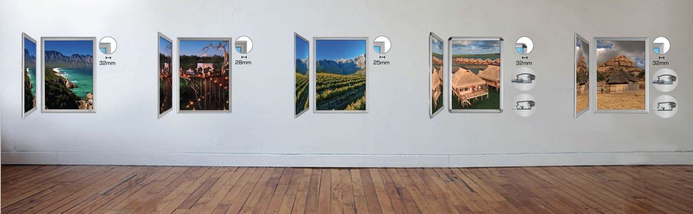 Snapit Snap Frames | Indoor Display Units by Display Mania