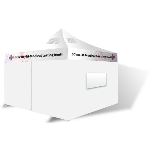 Agents - Medical Testing booth unbranded