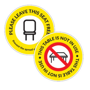 Seating Decal