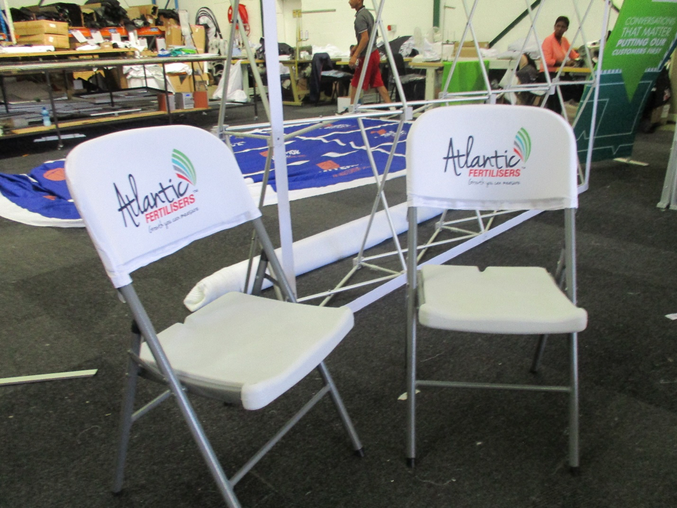 branded directors chairs display mania branded display units