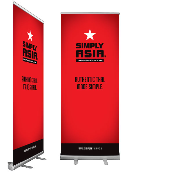 Econo Pull Up Banner Display Mania International